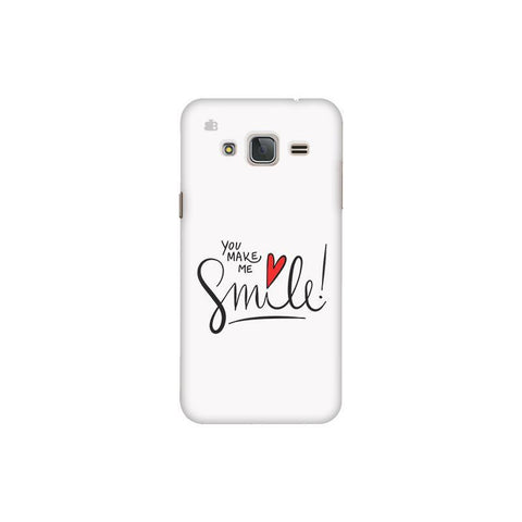 You make me Smile Samsung J3 Pro Cover