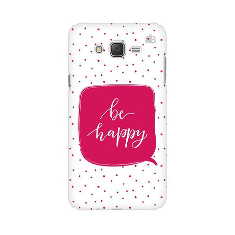 Be Happy Samsung J3 Phone Cover