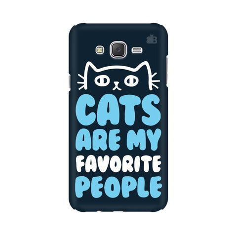 Cats favorite People Samsung J3 Phone Cover