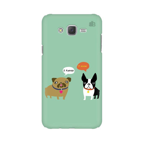Cute Dog Buddies Samsung J3 Phone Cover