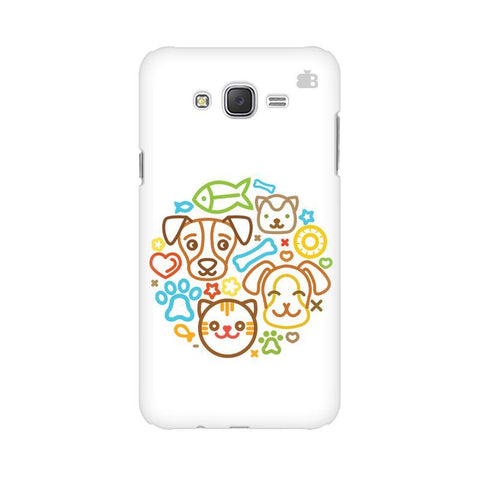 Cute Pets Samsung J3 Phone Cover