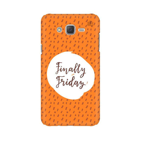 Finally Friday Samsung J3 Phone Cover