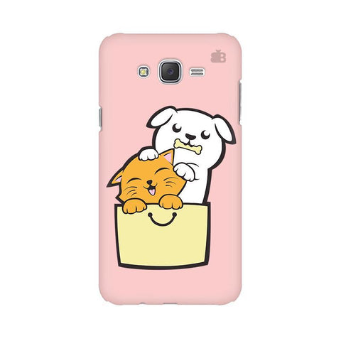 Kitty Puppy Buddies Samsung J3 Phone Cover