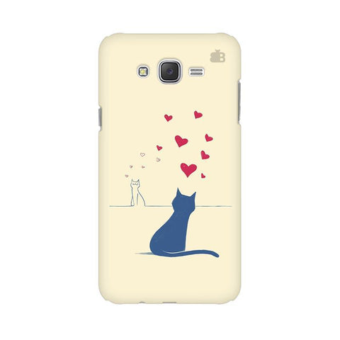 Kitty in Love Samsung J3 Phone Cover
