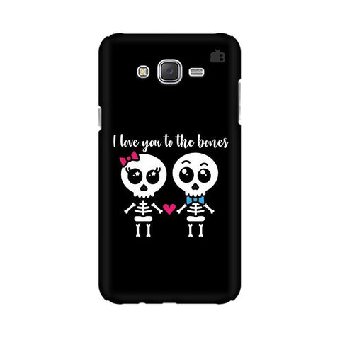 Love to the Bones Samsung J3 Phone Cover