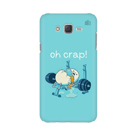 Oh Crap Samsung J3 Phone Cover