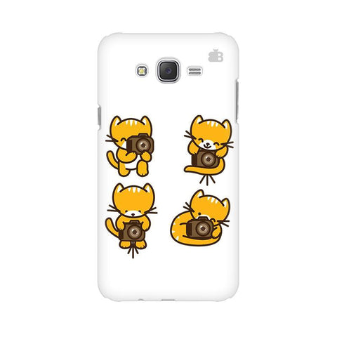 Photographer Kitty Samsung J3 Phone Cover