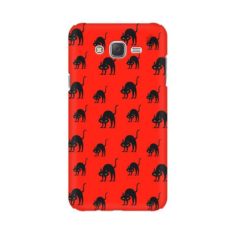 Scary Cats Samsung J3 Phone Cover