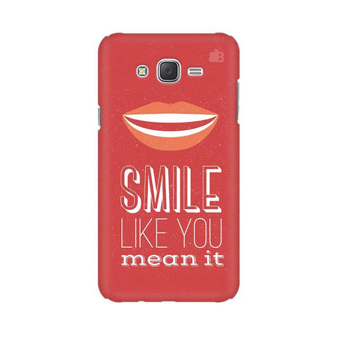 Smile Samsung J3 Phone Cover