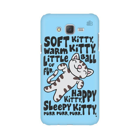 Soft Kitty Samsung J3 Phone Cover