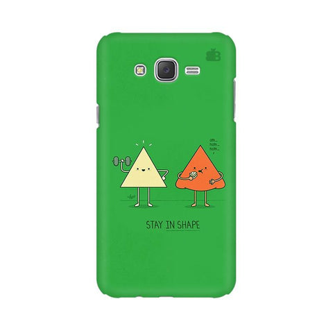 Stay in Shape Samsung J3 Phone Cover