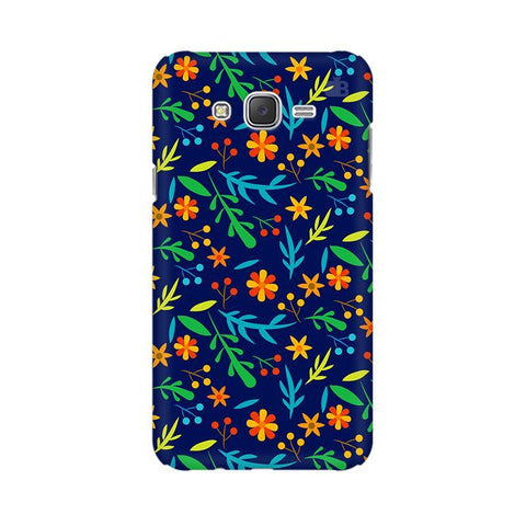 Vibrant Floral Pattern Samsung J3 Phone Cover