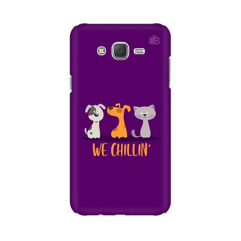 We Chillin Samsung J3 Phone Cover