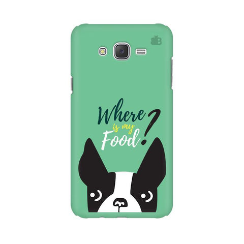 Where is my Food Samsung J3 Phone Cover