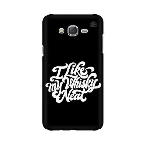 Whiskey Neat Samsung J3 Phone Cover