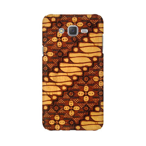 Brown Batik Samsung J5 2016 Cover