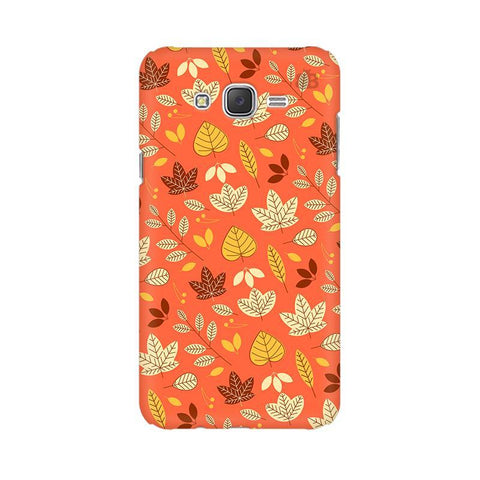 Cute Leaves Pattern Samsung J5 2016 Cover