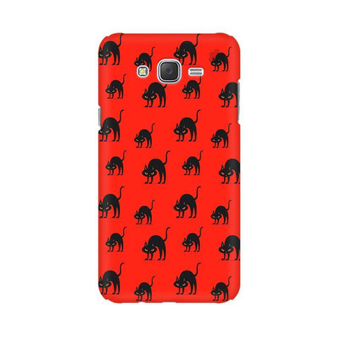 Scary Cats Samsung J5 2016 Cover