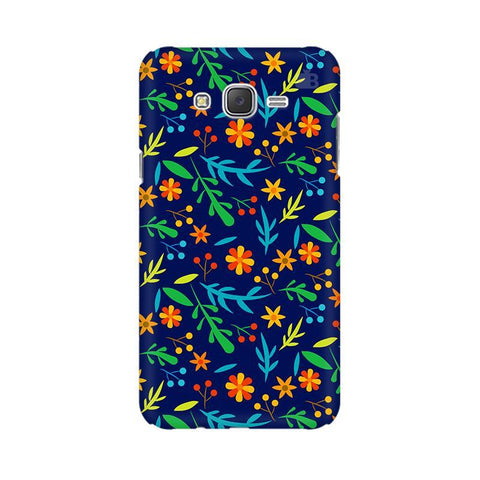 Vibrant Floral Pattern Samsung J5 2016 Cover