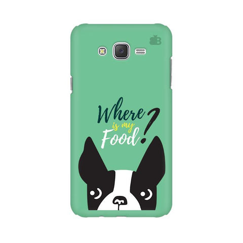 Where is my Food Samsung J5 2016 Cover