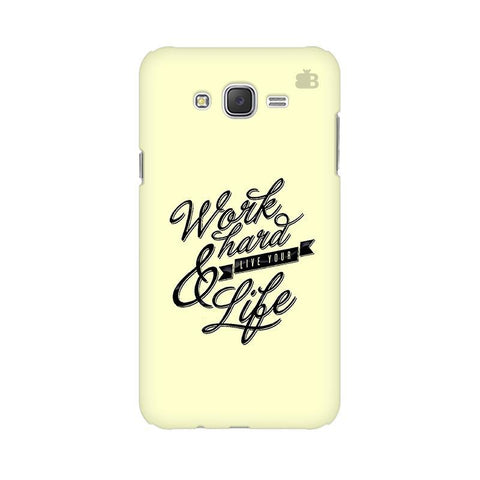 Work Hard Samsung J5 2016 Cover