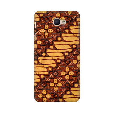 Brown Batik Samsung J5 Prime Cover