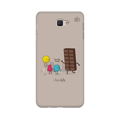 Choco late Samsung J5 Prime Cover