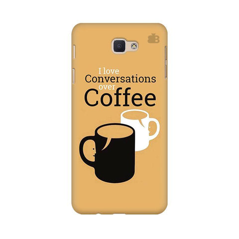 Convos over Coffee Samsung J5 Prime Cover