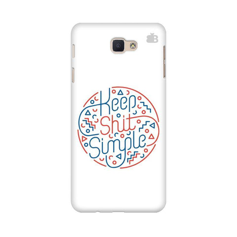 Keep Shit Simple Samsung J5 Prime Cover
