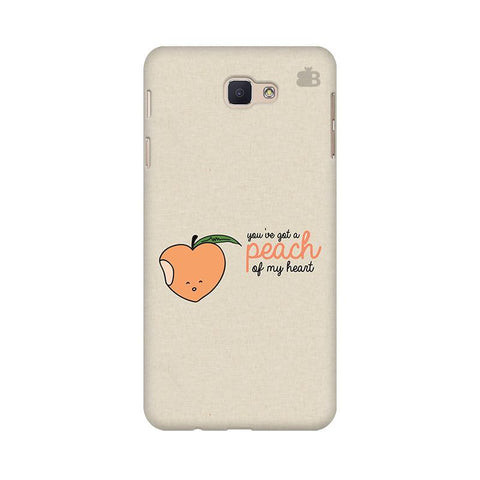 Peach of my heart Samsung J5 Prime Cover