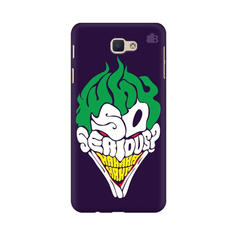 Why So Serious Samsung J5 Prime Cover
