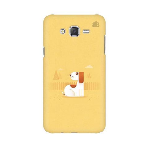Calm Dog Samsung J5 Cover