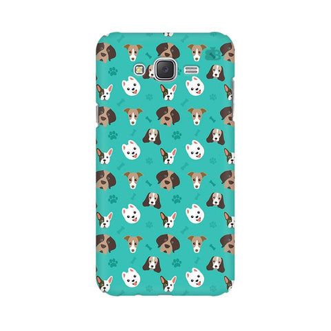 Doggie Pattern Samsung J5 Cover