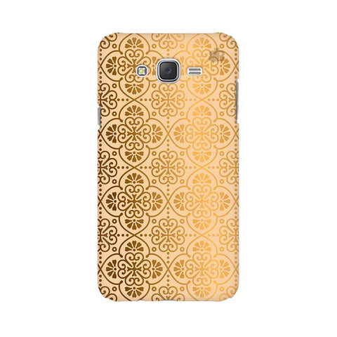 Ethnic Gold Ornament Samsung J5 Cover