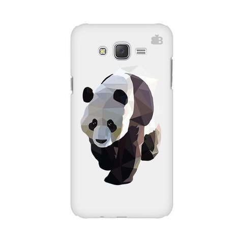Low Poly Panda Samsung J5 Cover