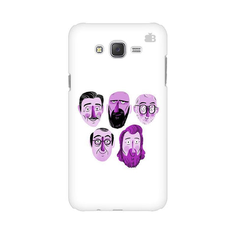 5 Bearded Faces Samsung J7 2016 Cover