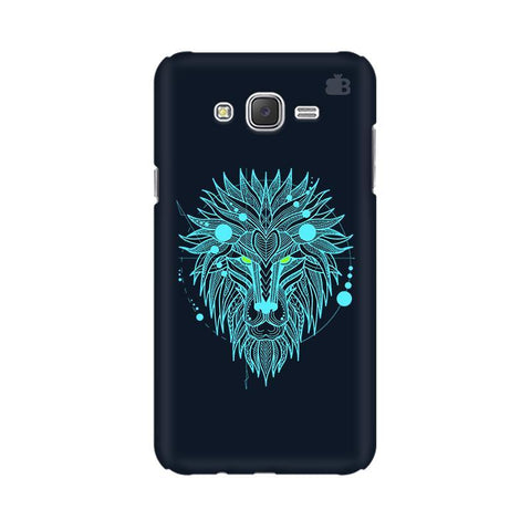 Abstract Art Lion Samsung J7 2016 Cover