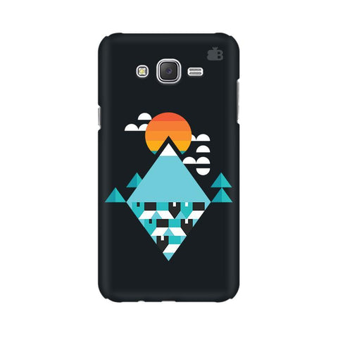 Abstract Mountains Samsung J7 2016 Cover