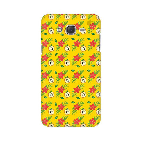 Apples & Flowers Samsung J7 2016 Cover