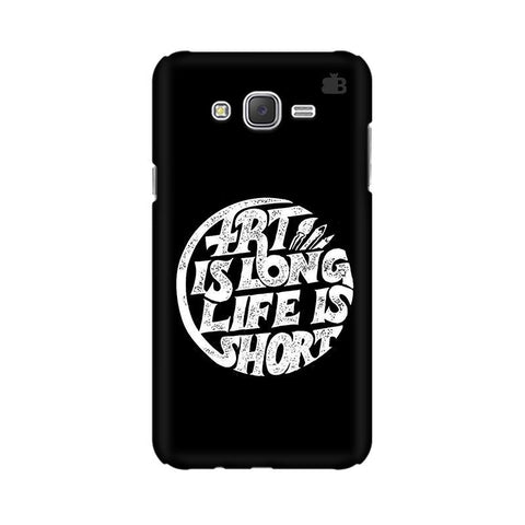 Art is Long Samsung J7 2016 Cover