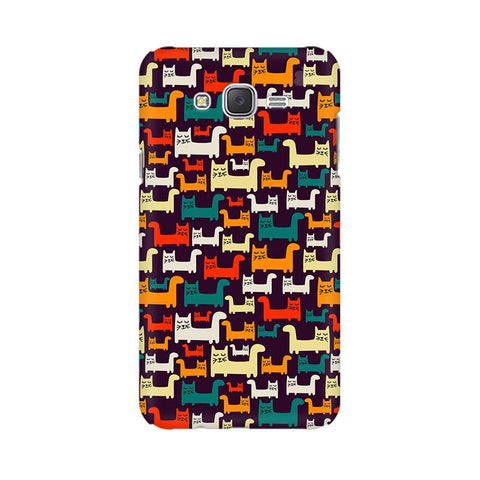 Chill Cats Samsung J7 2016 Cover