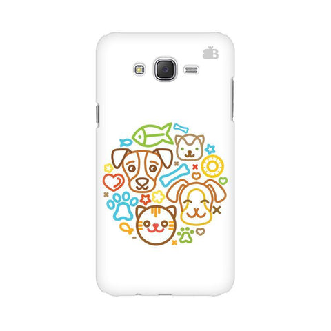 Cute Pets Samsung J7 2016 Cover