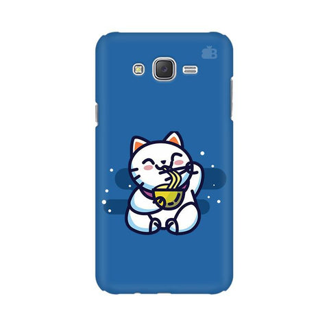 KItty eating Noodles Samsung J7 2016 Cover