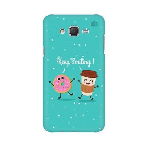 Keep Smiling Samsung J7 2016 Cover