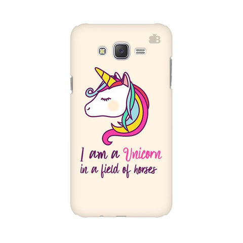Unicorn in Horses Samsung J7 2016 Cover