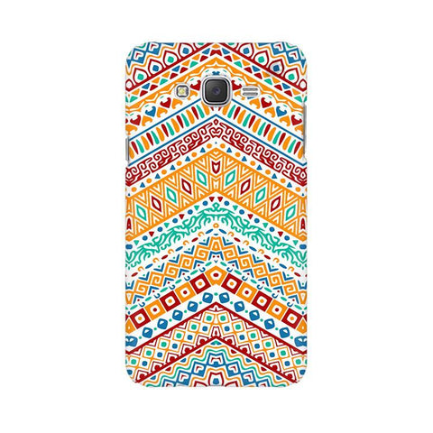 Wavy Ethnic Art Samsung J7 2016 Cover