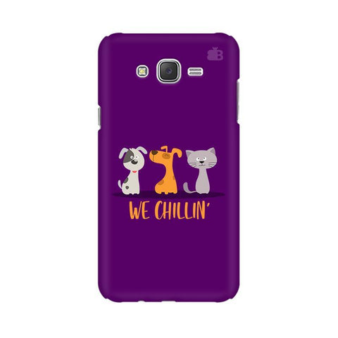 We Chillin Samsung J7 2016 Cover