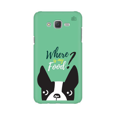 Where is my Food Samsung J7 2016 Cover
