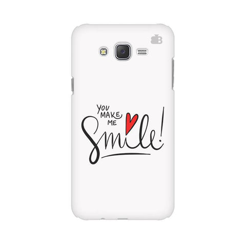 You make me Smile Samsung J7 2016 Cover