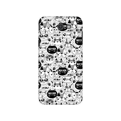 Cute Cats Pattern Samsung J7 2017 Cover